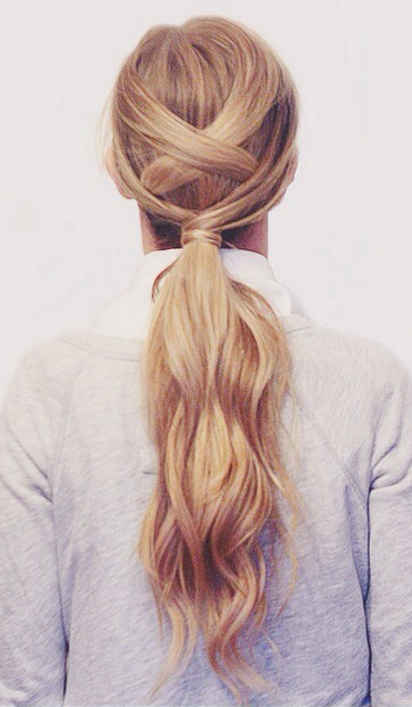 mordern-ponytail