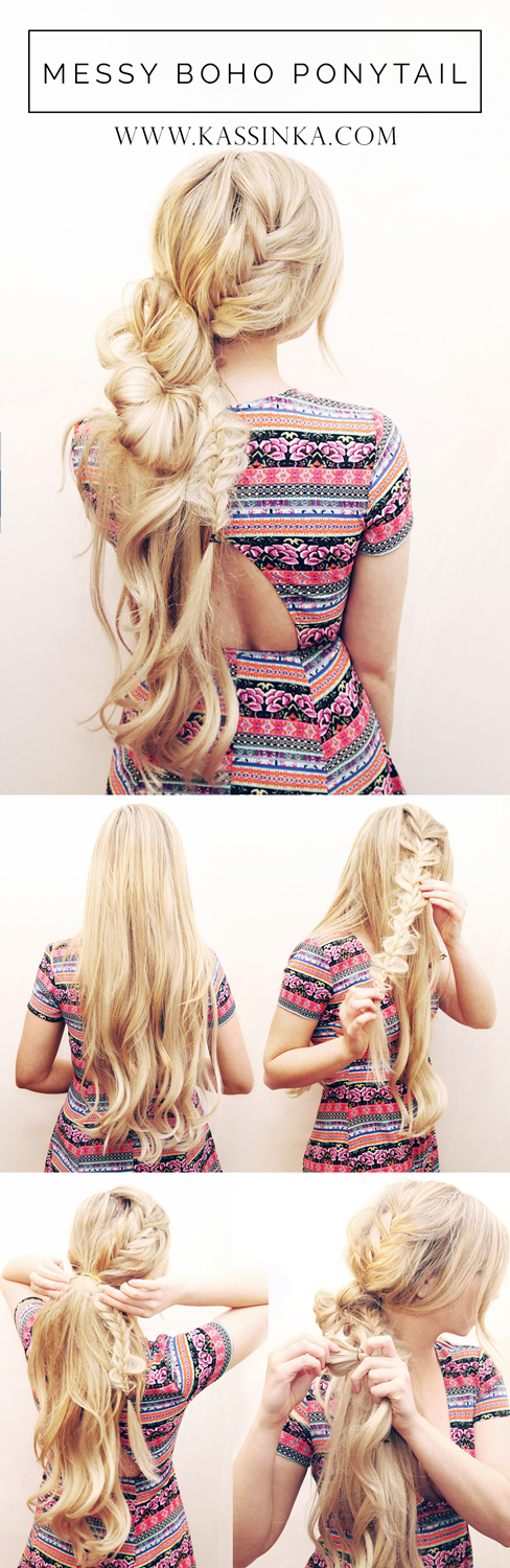 Kassinka-Messy-Loose-Ponytail-Hair-Tutorial