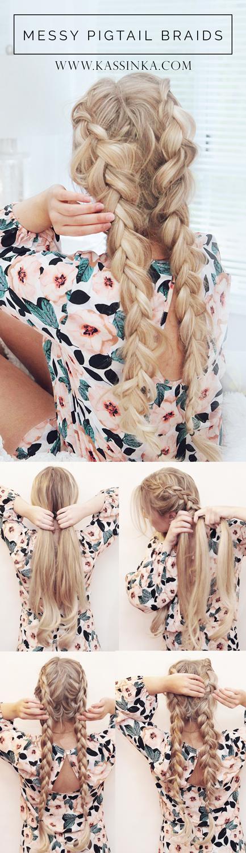 kassinka-messy-pigtail-braids-hair-tutorial
