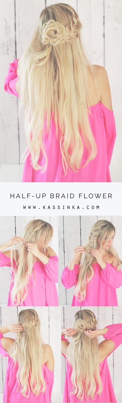 Kassinka-Braided-Flower-Hair-Tutorial