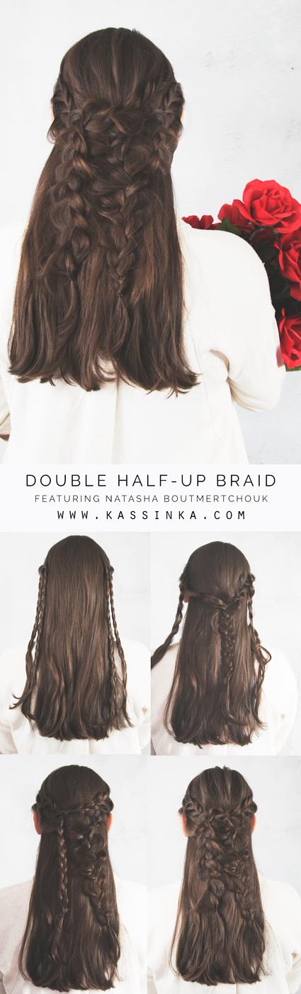 Kassinka-double-braid-hair-tutorial