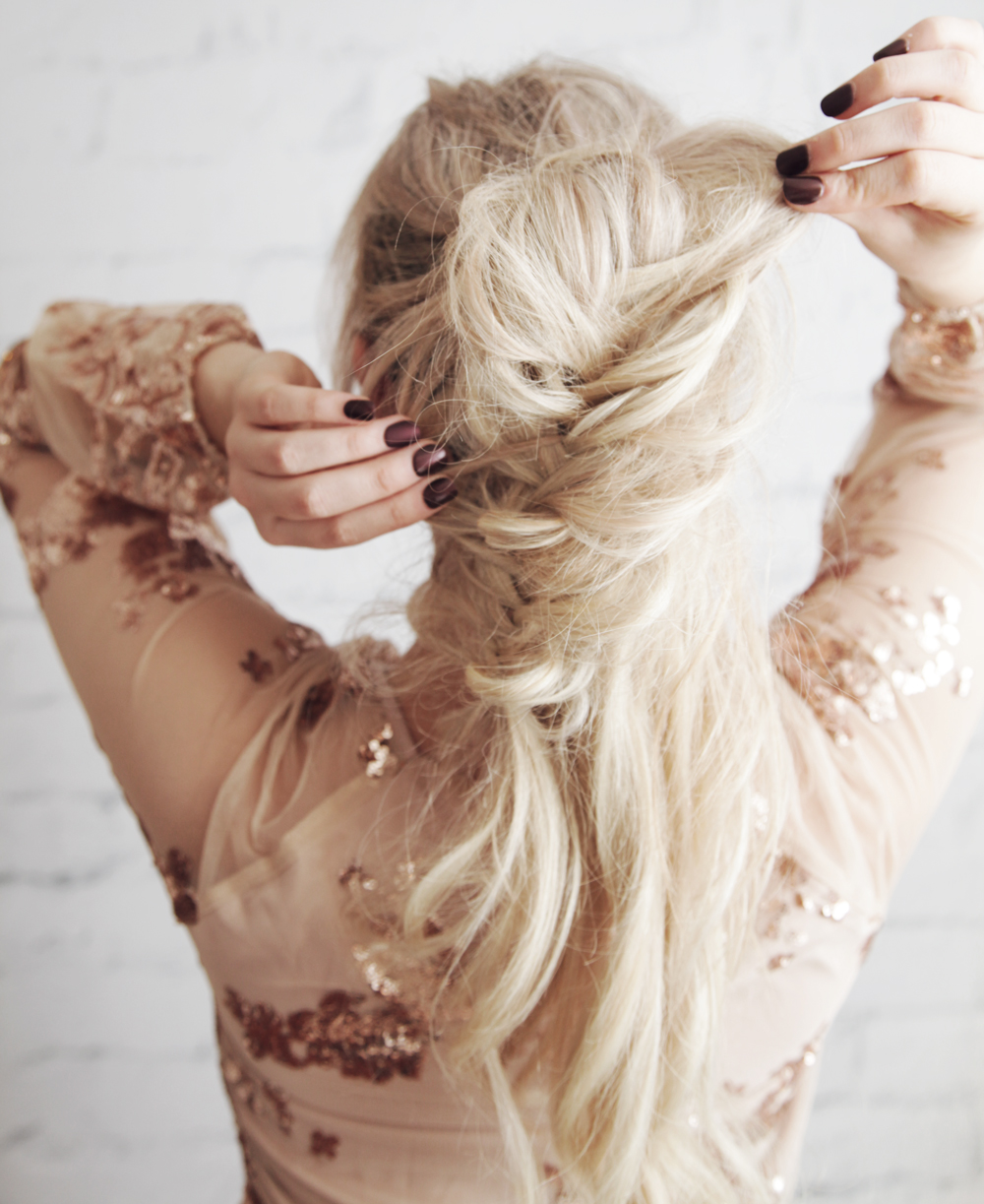 kassinka-messy-fishtail-braid-ponytail